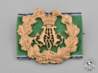 Bavaria, Kingdom. A Prince Alfons Golden Shooting Badge