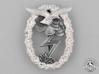 Germany, Luftwaffe. A Luftwaffe Ground Assault Badge, 1957 Reissue