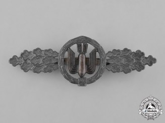 Germany, Luftwaffe. A Bomber Pilot's Clasp, Silver Grade, by Funke and Brünninghaus