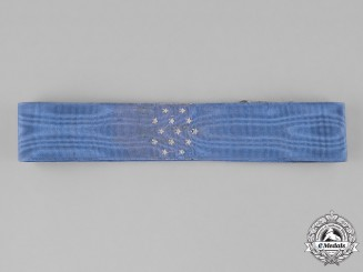 United States. Army Medal of Honor Neck Ribbon, Type IV (1933-1944)