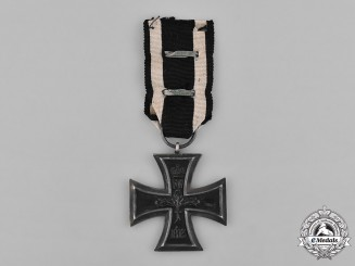 Prussia, State. A II. Class Iron Cross 1914 with Clasp to the II. Class Iron Cross 1939, Reduced Size