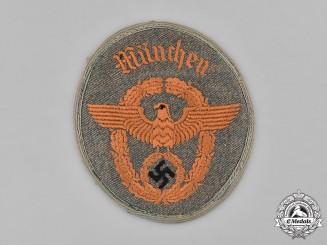 Germany, Police. A Munich Gendarmerie EM/NCO's Sleeve Patch