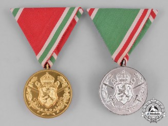 Bulgaria, Kingdom. Two Commemorative War Medals