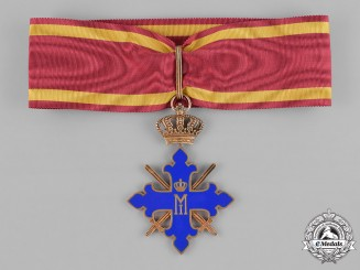 Romania, Kingdom. An Order of Michael the Brave, II Class Commander, c,1944