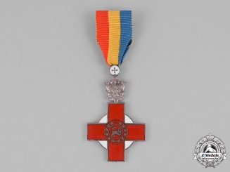 Ethiopia, Empire. An Order of the Ethiopian Red Cross Society, III Class