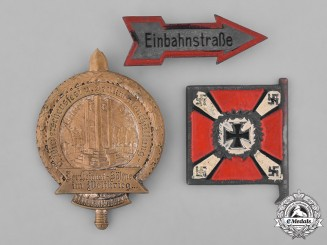 Germany, Third Reich. A Grouping of Three Third Reich Badges