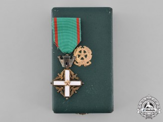 Italy, Republic. An Order of Merit of the Italian Republic, V Class Knight