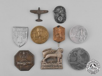 Germany, Third Reich. A Grouping of Nine Badges
