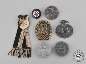 Germany, Third Reich. A Grouping of Seven Badges