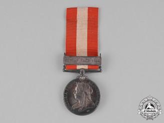 United Kingdom. A Canada General Service Medal, Cobourg Battery Garrison Artillery