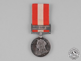 United Kingdom. A Canada General Service Medal, York Troop Cavalry (Oakridge Cavalry)
