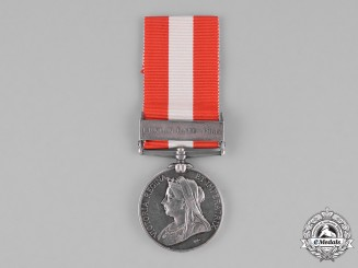 United Kingdom. A Canada General Service Medal 1866-1870, No. 6 Co. Brooklin Rifle Company