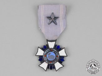 "Korea, Republic, An Order of Military Merit, ""Chungmu"" III Class Breast Badge, c.1955"