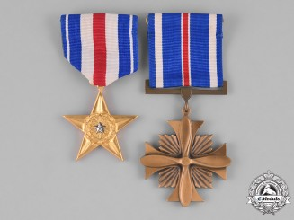 United States. Two Gallantry Awards