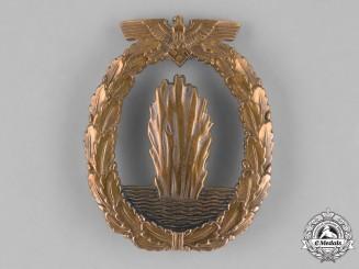 Germany, Kriegsmarine. A Kriegsmarine Minesweeper Badge by F.W. Assmann & Söhne