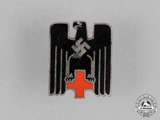 Germany, Deutsches Rotes Kreuz. A German Red Cross (DRK) Membership Badge by Ernst L. Müller, Pforzheim