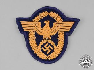 Germany, Ordnungspolizei. A Wasserschutzpolizei (Water Protection Police) Sleeve Insignia