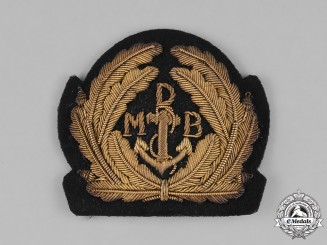 Germany, Reichsmarine. A Weimar Period Naval Officer's Cap Insignia