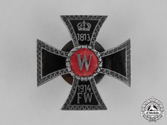 Germany, Imperial. A First War Period Veteran's Cross