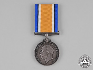 Canada. A British War Medal, to Sapper William Webb, 162nd Infantry Battalion, Canadian Railway Troops