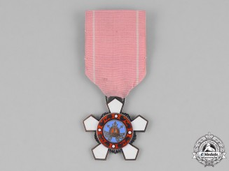 "Korea, Republic. An Order of Military Merit, ""Hwarang"" IV Class Badge"