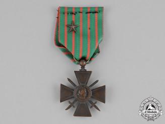 France, Republic. A Croix de Guerre (War Cross), c.1917