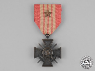 France, Vichy. A Croix de Guerre (War Cross) 1939-1942