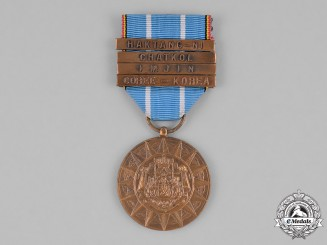 Belgium, Kingdom. A Foreign Operational Theatres Commemorative Medal with four clasps