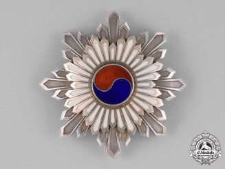 Korea, Republic. An Order of the Taegeuk, II Class Star, c.1910