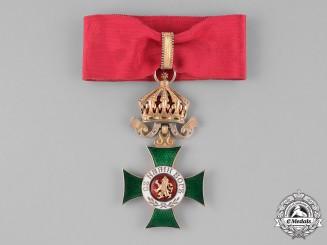 Bulgaria, Kingdom. An Order of St. Alexander, III Class Commander, c.1910