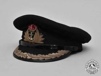 United Kingdom, Royal Navy. A Captain's Visor Cap, c.1941