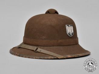 Germany, DAK. A II Pattern German Africa Corps (Deutsches Afrikakorps) Tropical Helmet by R&M Wegener