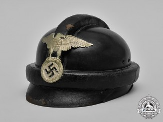 Germany, NSKK. A I Pattern National Socialist Motor Corps (NSKK) Crash Helmet
