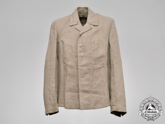 Germany, SS. A SS-BW Marked Waffen-SS Drill Jacket