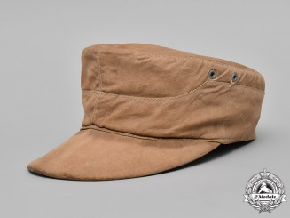 Germany, Kriegsmarine. An EM/NCO's M41 Tropical Field Cap