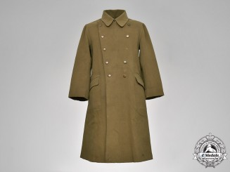 Japan, Imperial. A Second War Period Japanese Army Greatcoat