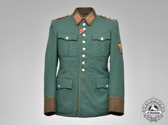 Germany, Ordungspolizei. A Gendarmerie Hauptwachtmeister Tunic