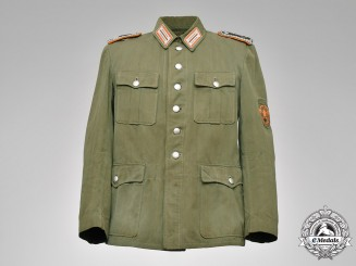 Germany, Ordungspolizei. A Gendarmerie Revieroberwachtmeister Tunic