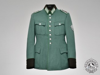 Germany, Ordungspolizei. A Schutzpolizei Meister NCO Tunic, ca. 1940