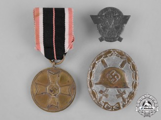 Germany, Wehrmacht. A Group of Second War Period Wehrmacht Decorations