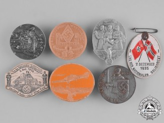 Germany, Third Reich. A Group of Seven Event Badges