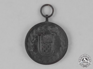Croatia, Independent State. A Jubilee of Independence Medal 1918-1943