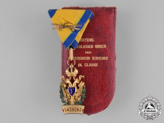 Austria, Empire. An Order of the Iron Crown, III Class Knight