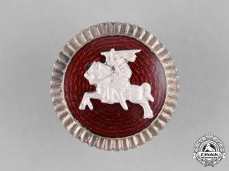 Lithuania. A Vytis Army Cap Badge