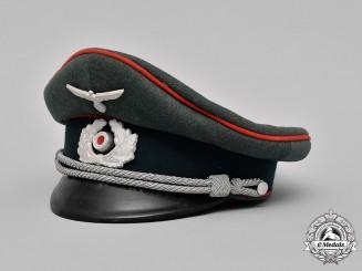 Germany, Heer. A Heer Flak/Artillery Officer's Visor Cap