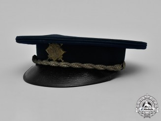 Czechoslovakia, Republic. An Army Officer's Visor cap by A. Kovař