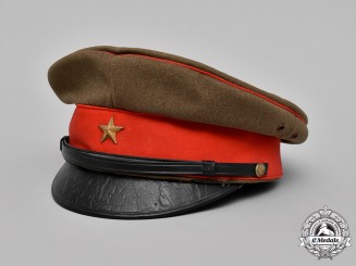 Japan, Imperial. An Army Officer's Visor Cap