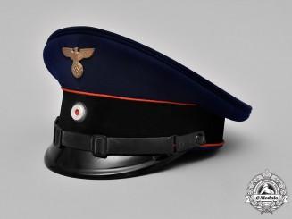 Germany, Reichspost. A (Imperial Mail) EM/NCO's Visor Cap