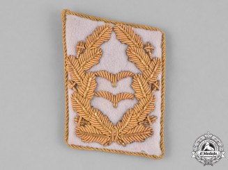 Germany, Luftwaffe. A Second War Period Luftwaffe Generalleutnant Collar Tab