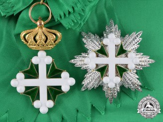 Italy, Kingdom. An Order of St. Maurice and St. Lazarus, I Class Grand Cross, by E.Gardino